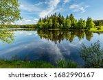 Scenic View Of A Kladska Lake...