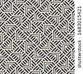 vector seamless stylish pattern....   Shutterstock .eps vector #1683015421