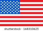 american flag idea vector... | Shutterstock .eps vector #168310625