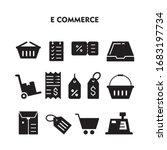 set of e commerce icon  e... | Shutterstock .eps vector #1683197734