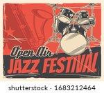 Jazz Music Festival Or Concert...