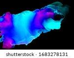 abstract blue neon spots... | Shutterstock . vector #1683278131
