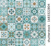 mediterranean seamless pattern...   Shutterstock .eps vector #1683322804