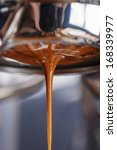 espresso extraction with... | Shutterstock . vector #168339977