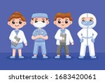 collection of health... | Shutterstock .eps vector #1683420061
