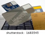 many credit cards | Shutterstock . vector #1683545