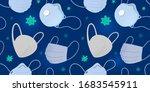 various medical masks ... | Shutterstock .eps vector #1683545911