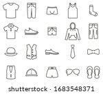 men s clothing   accessories... | Shutterstock .eps vector #1683548371