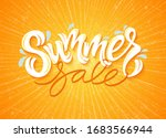 vector illustration  summer... | Shutterstock .eps vector #1683566944