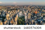 Aerial View Of City Campinas