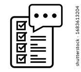 Feedback Testimonial Icon Logo...