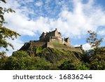 edinburgh castle  scotland  uk  ... | Shutterstock . vector #16836244