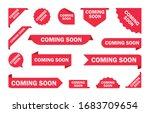 coming soon. a set of banners... | Shutterstock .eps vector #1683709654