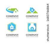 real estate  city  skyline... | Shutterstock .eps vector #1683766864
