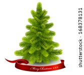 christmas fir tree. vector eps... | Shutterstock .eps vector #168378131