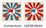 corona virus attack poster...   Shutterstock .eps vector #1683818644