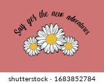 say yes the new adventures... | Shutterstock .eps vector #1683852784