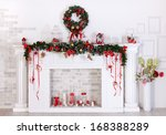 christmas decoration with... | Shutterstock . vector #168388289