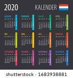2020 calendar   vector... | Shutterstock .eps vector #1683938881