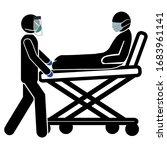 corona virus pandemic concept.... | Shutterstock .eps vector #1683961141