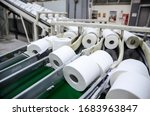 Production Of Toilet Paper In...