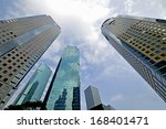 office building as the... | Shutterstock . vector #168401471