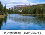 Horseshoe Lake In Denali...
