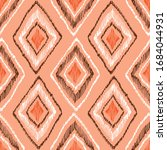 hand drawn orange and brown...   Shutterstock .eps vector #1684044931