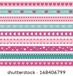 Love Borders With Hearts