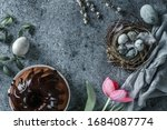 happy easter holiday... | Shutterstock . vector #1684087774