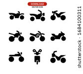Motorcycle Icon Or Logo...