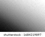 distressed dots background.... | Shutterstock .eps vector #1684219897