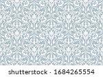 floral pattern. vintage...   Shutterstock . vector #1684265554