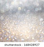 white and silver abstract ... | Shutterstock . vector #168428927