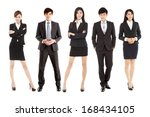 successful asian young business ... | Shutterstock . vector #168434105