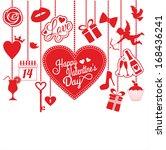 valentyne card   Shutterstock .eps vector #168436241