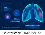 healthcare futuristic...   Shutterstock .eps vector #1684394167