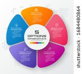 business infographic template...   Shutterstock .eps vector #1684480864