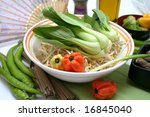 pak choi vegetables | Shutterstock . vector #16845040