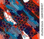 abstract seamless  pattern....   Shutterstock .eps vector #1684538407