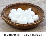 Pile Of Softener Salt Pellets...
