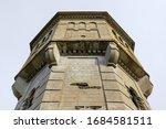 detail of old abandoned beton... | Shutterstock . vector #1684581511