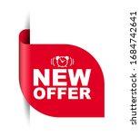 red vector illustration banner...   Shutterstock .eps vector #1684742641