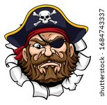 A Pirate Cartoon Character...