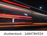 Long Exposure Of Bus Driving...