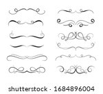 variety of cute decoration... | Shutterstock .eps vector #1684896004