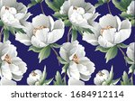 floral pattern with colourful ... | Shutterstock .eps vector #1684912114