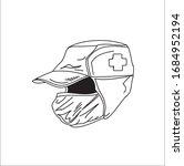hand sanitizer mask anti virus... | Shutterstock .eps vector #1684952194