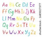 Vector Alphabet Set. Hand Drawn ...