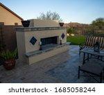 An Outdoor Travertine Tile...
